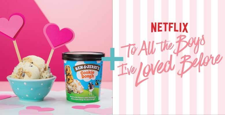 Pair Chocolate Chip Cookie Dough With To All The Boys I've Loved Before