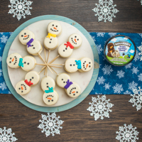 Recipe: Ice Cream Snowman-wiches